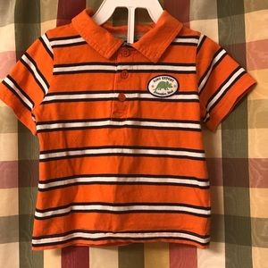 24 months short sleeve polo shirt